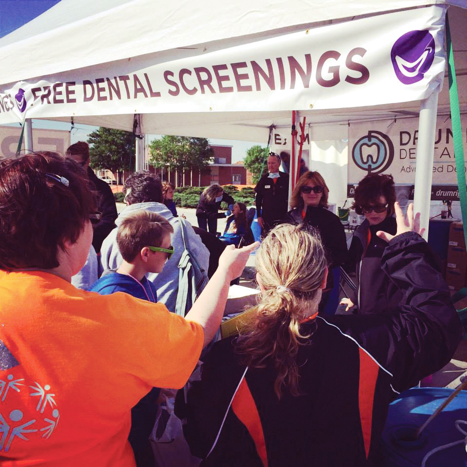 Drumright Dental Center runs the Special Smiles at the Special Olympics in Oklahoma