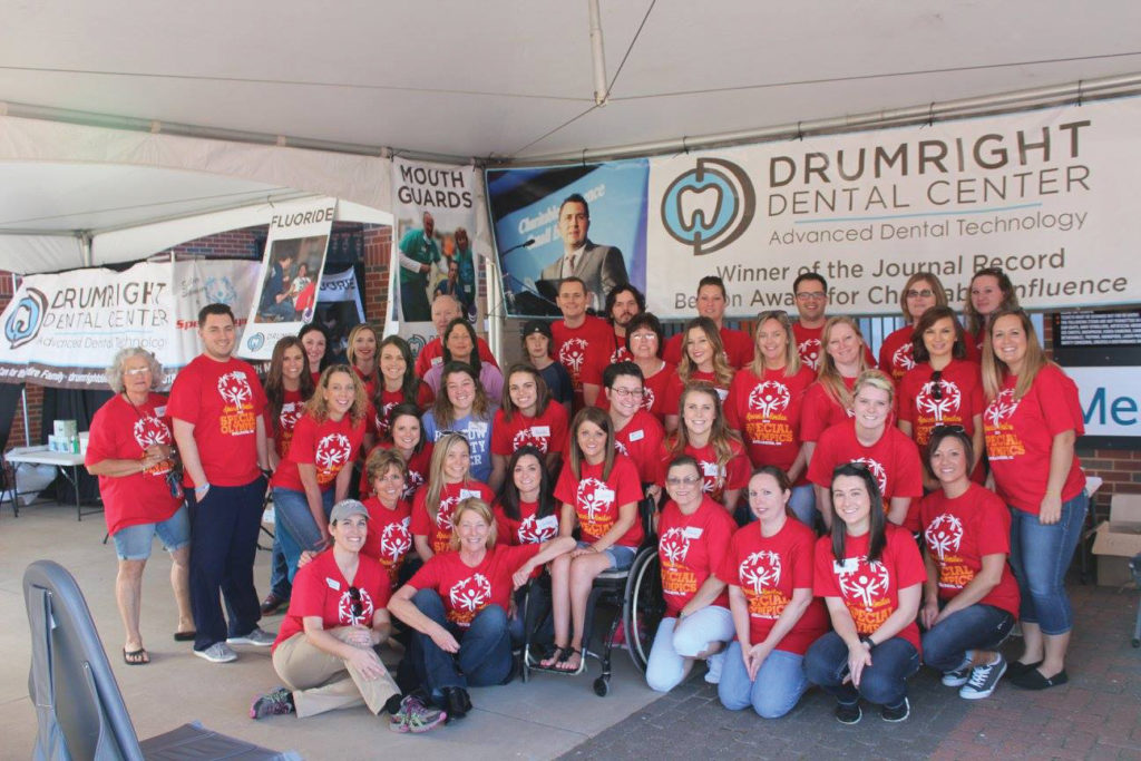 Drumright Dental Center Team supports Special Olympics Oklahoma
