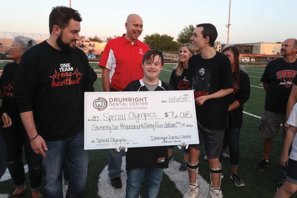 Drumright Dental donates $76,065 to Special Olympics Oklahoma