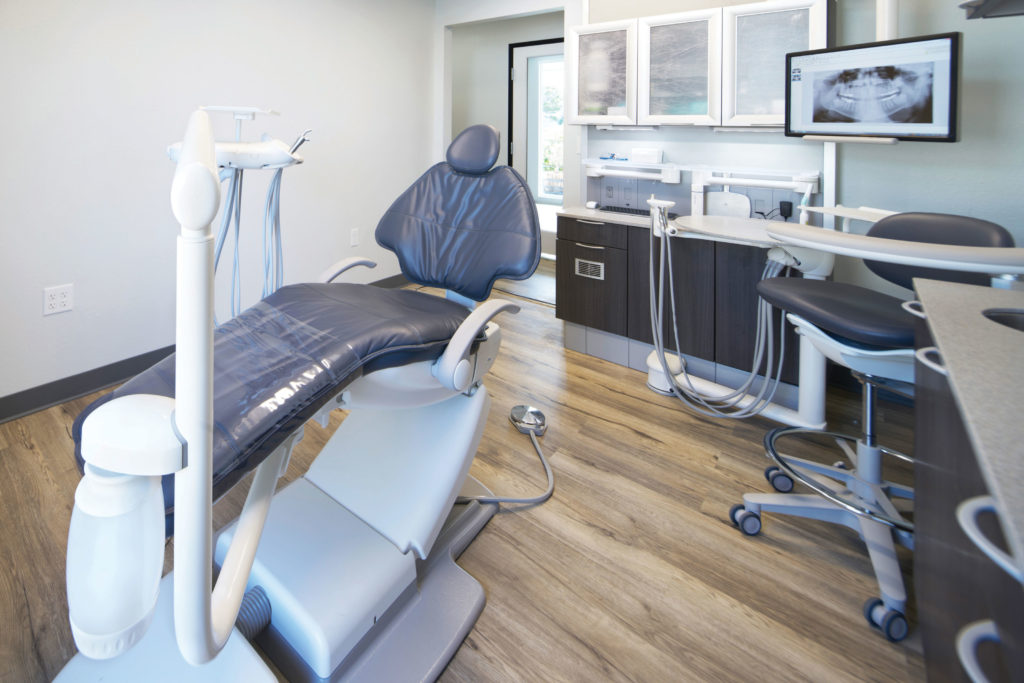 Dr. Scott Loiselle's remodeled office design by Burkhart