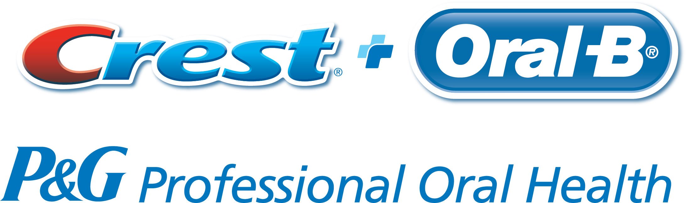 Crest + Oral B, P&G Professional Oral Health Logo