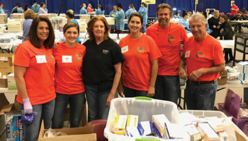 Burkhart Denver Branch volunteers with Colorado Mission of Mercy