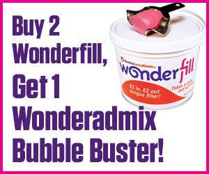 Buy 2 Wonderfill, Get 1 Wonderadmix Bubble Buster