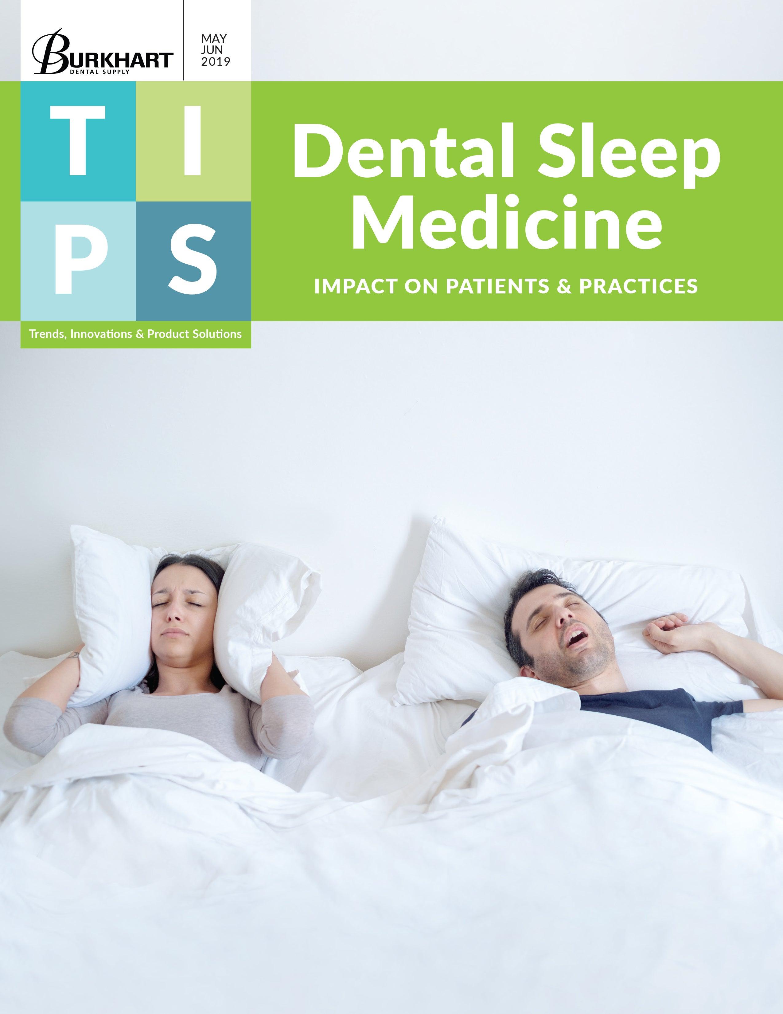 TIPS May/June 2019 Dental Sleep Medicine Cover