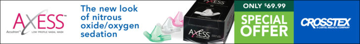 AXESS –The new look of nitrous oxide/oxygen sedation. Special Offer!