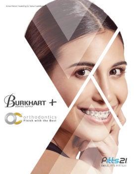 Burkhart + OC Orthodontics Catalog Cover