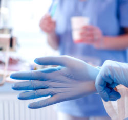 Infection Control gloves