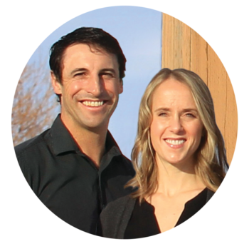 Dr. Jason Tanguay and Dr. Lindsey Hollern