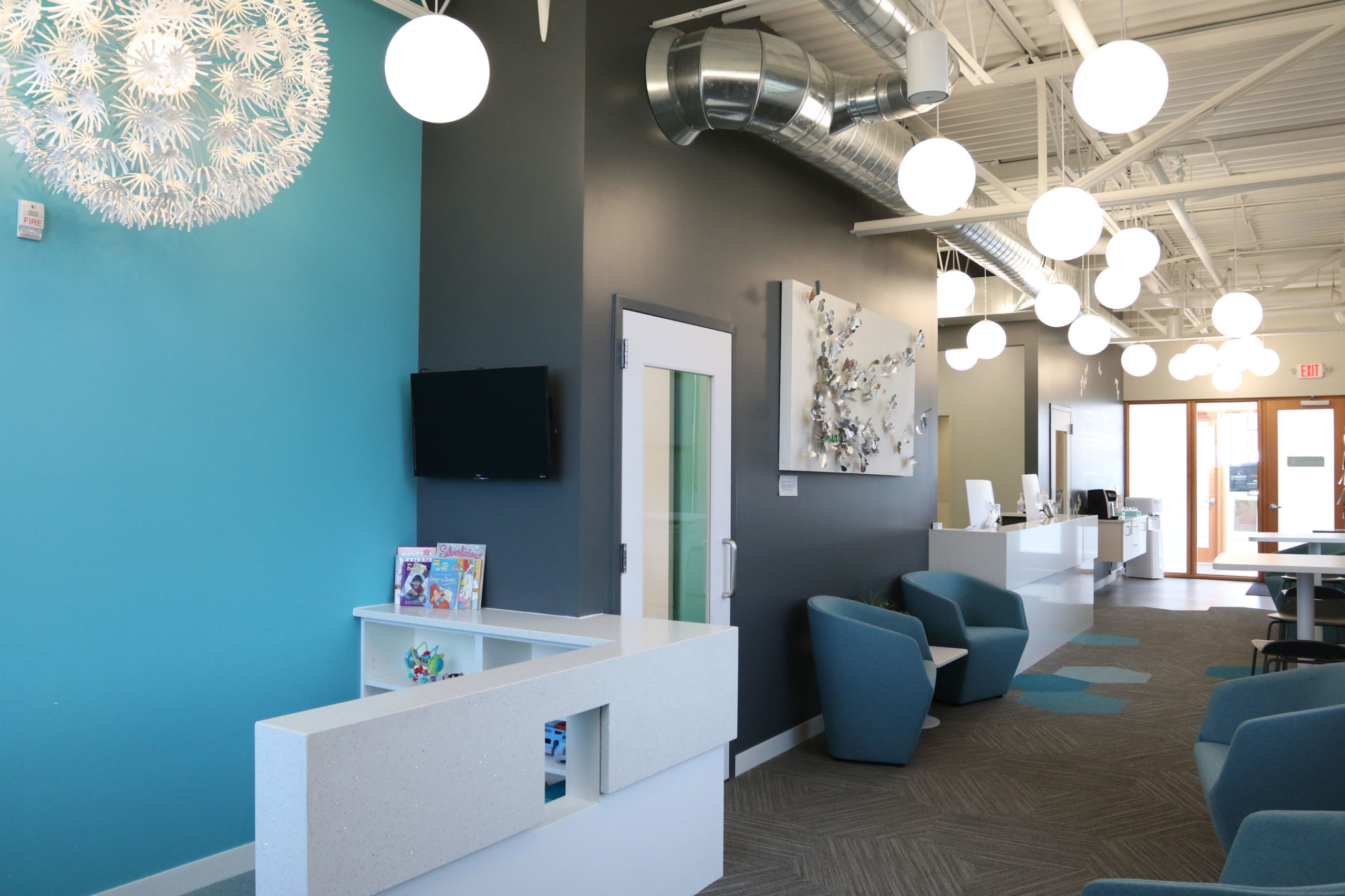 Mint* Reception Area