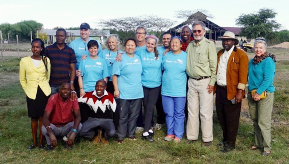 The Serenity team combines efforts with the clinical and community leaders for a successful dental trip.