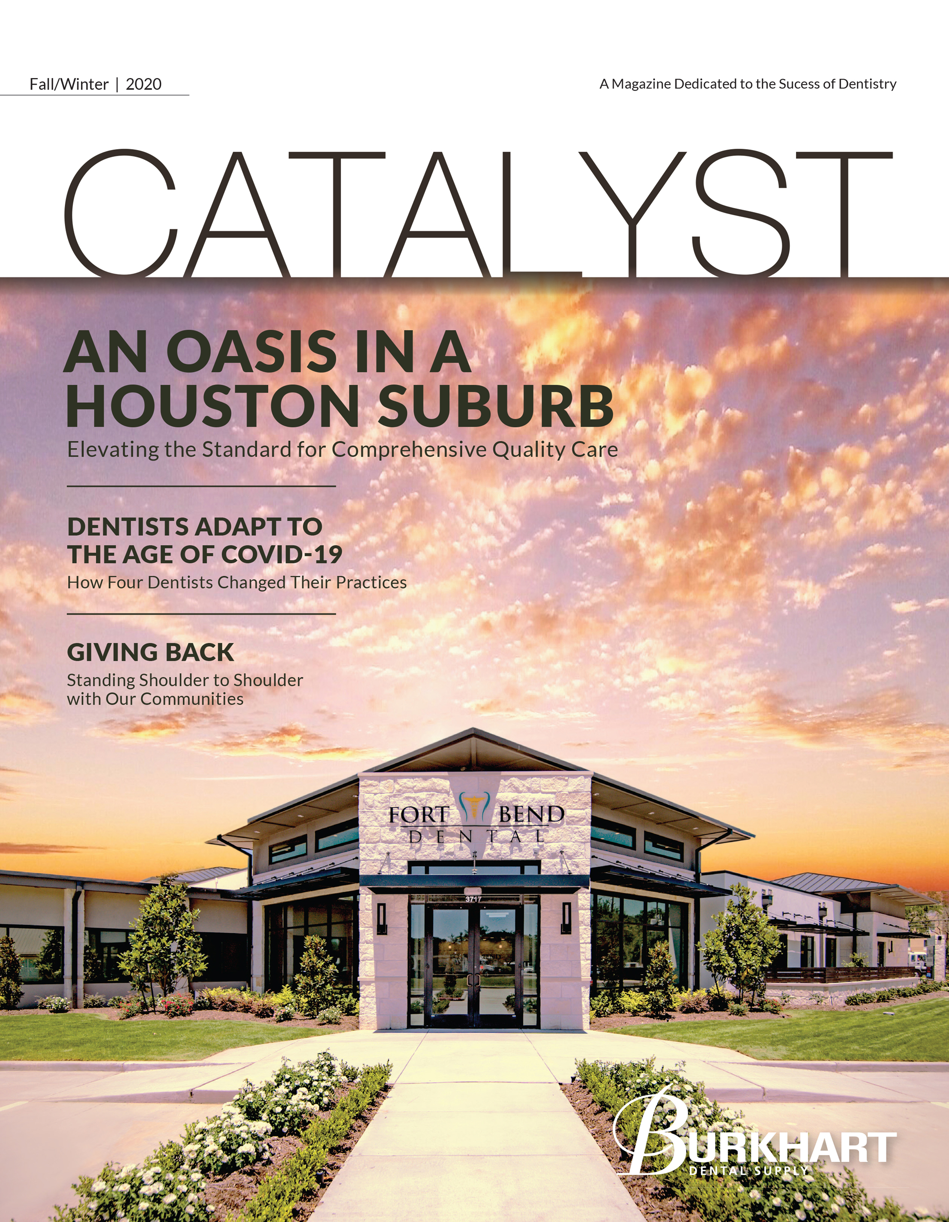 Catalyst Fall/Winter 2020 Cover