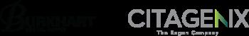 Burkhart + Citagenix Partnership – a lock-up of the two logos.